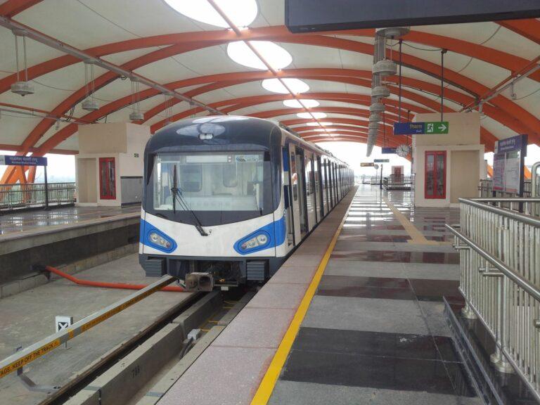 Metro in India