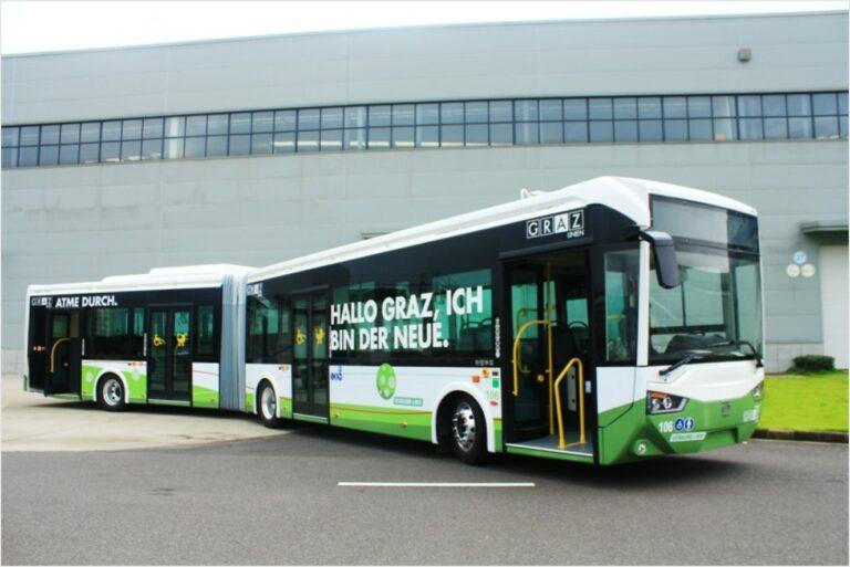 E-Bus in Graz, Austria