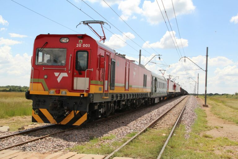Dual-Voltage Electric Locomotive in Africa