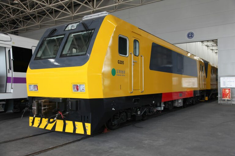 Inspection Train in Shenzhen