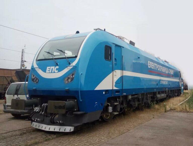 AC Locomotive in Serbia