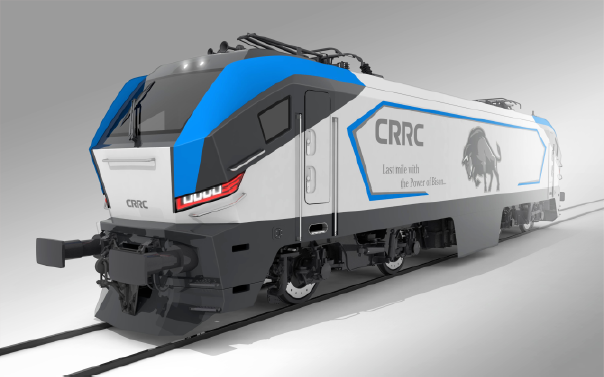BISON – Multi-System Electric Locomotive