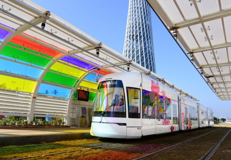 New Tram in Haizhu District, Guangzhou
